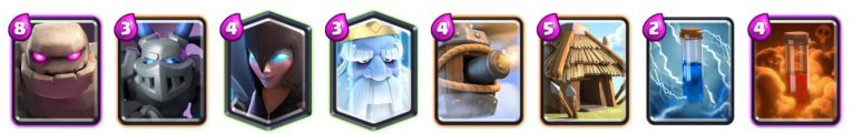 Golem Royal Ghost 12 Win Challenge Deck