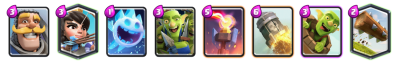 Log Zap Bait 12 Win Challenge Deck