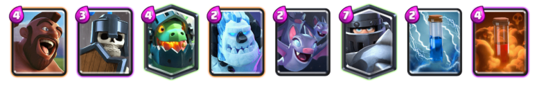 Mega Knight 12 Win Challenge Deck