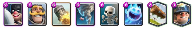Miner Executioner 2v2 Deck Clash Royale