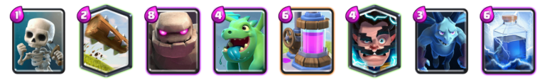 Golem Baby Dragon 2v2 Deck Clash Royale