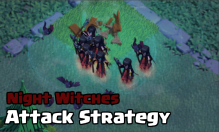Night Witches Attack Strategy Builder Hall 6 Clash of Clans