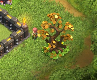 Lunar New Year Tree Clash of Clans