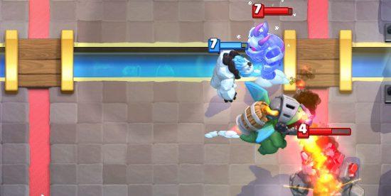Inferno Dragon vs Golem Clash Royale