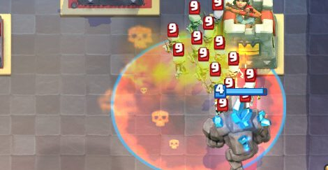 Golem Poison Deck Clash Royale