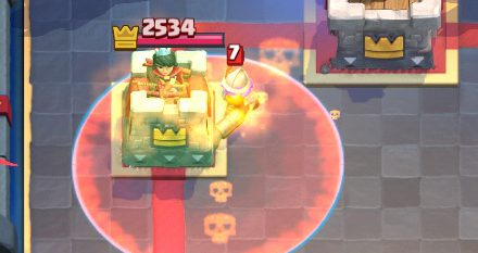 Poison Chip Damage Clash Royale