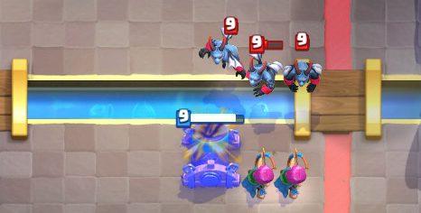 Mortar Setup Push Clash Royale