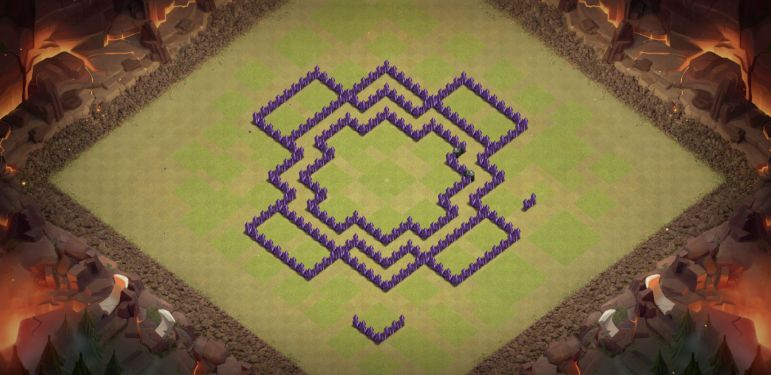 Town Hall 8 Base Design Layout Clash of Clans