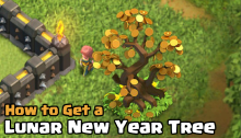 How to Get a Lunar New Year Tree Clash of Clans