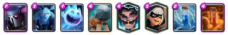 PEKKA Bandit Deck Clash Royale