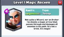 Magic Archer Gameplay Statistics Leaked Clash Royale