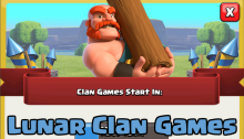 Lunar Clan Games Clash of Clans