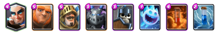 Giant Magic Archer Deck Clash Royale
