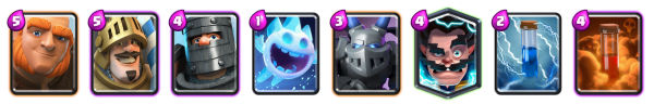Giant Double Prince Deck Clash Royale