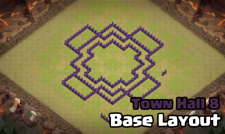 Best Town Hall 8 War Base Design for February 2018 | Clash for Dummies