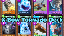 X Bow Tornado Deck Clash Royale
