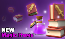 New Magic Items Clan Games Clash of Clans March 2018 Update