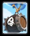 Skeleton Barrel Clash Royale