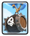 Skeleton Barrel Clash Royale