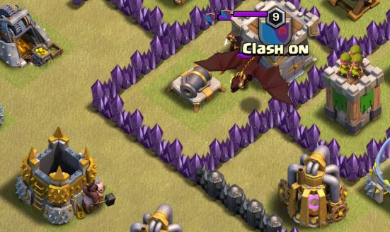 Clan Castle Kill Clash of Clans