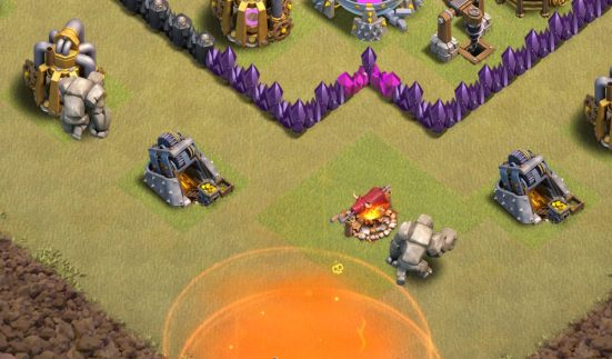 Golems GoWiPe Clash of Clans