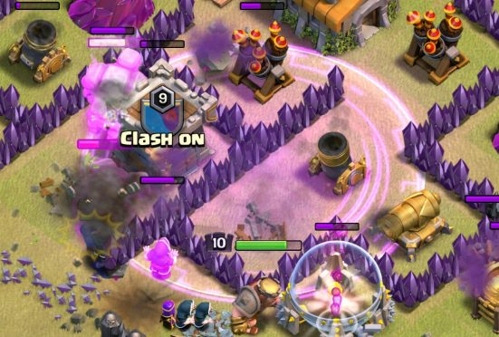 Rage Spells GoWiPe Clash of Clans