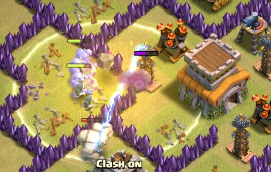 Heal Spells GoWiPe Clash of Clans