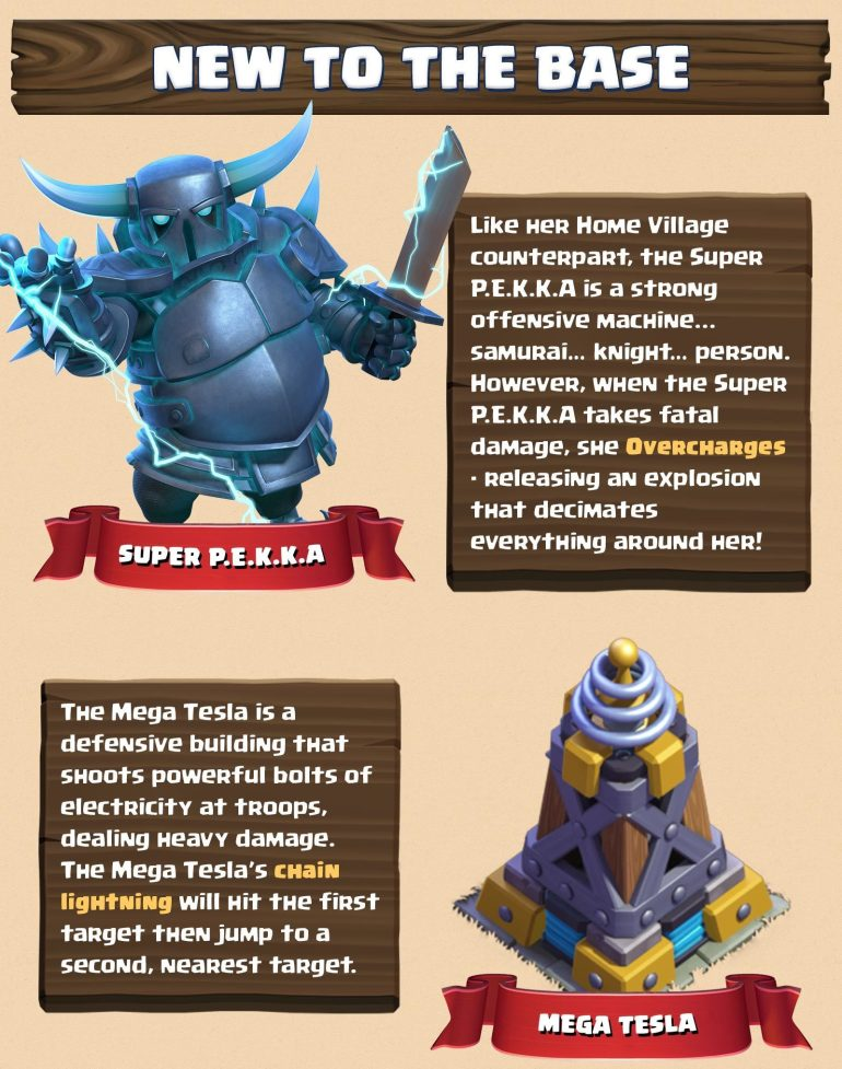 Super PEKKA Mega Tesla March 2018 Update Clash of Clans