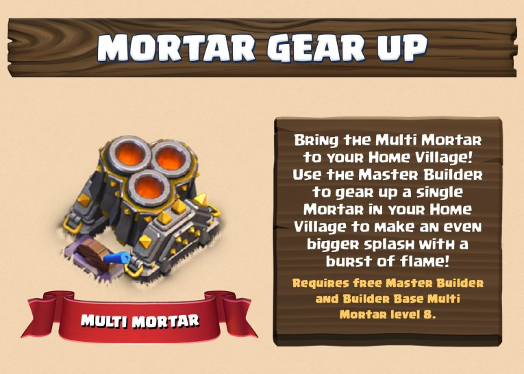 Multi Mortar March 2018 Update Clash of Clans