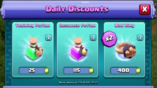Trader Deals Clash of Clans March 2018 Update