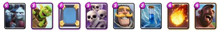 Retro Royale Zap Bait Deck Clash Royale