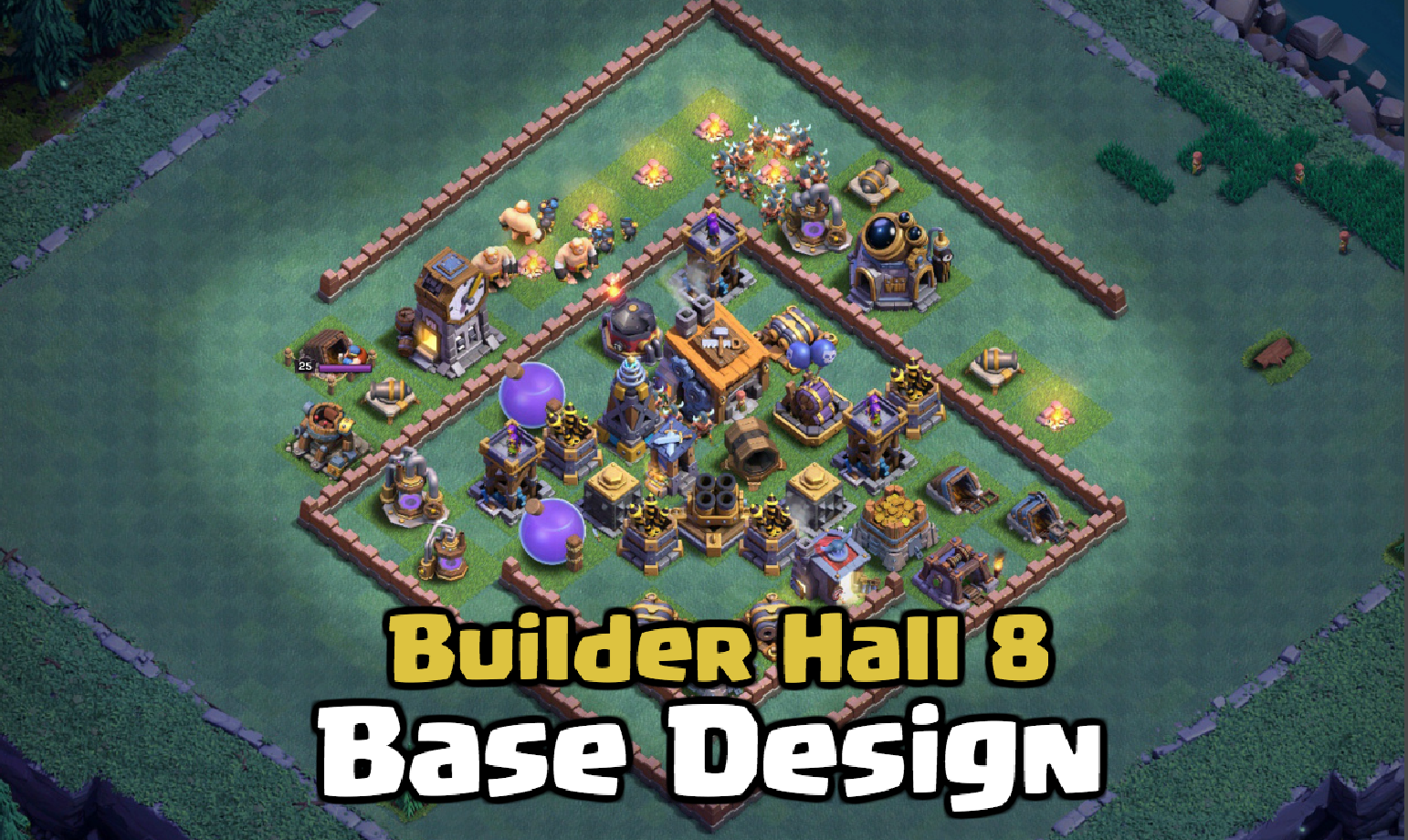 Best builder hall base designs in clash of clans clash for dummies