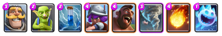 Electrify Deck Pro Deck Challenge Clash Royale