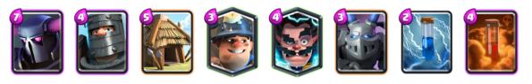 PEKKA Dark Prince Deck Clash Royale
