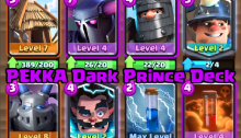 PEKKA Dark Prince Deck Clash Royale