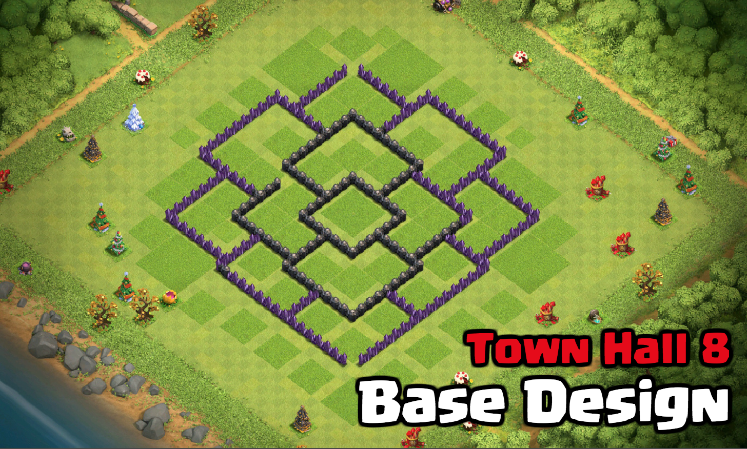 Best Town Hall 8 Base Design for March 2018 | Clash for Dummies