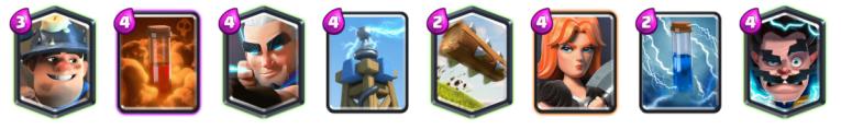 Miner Magic Deck Reddit Blind Deck Challenge Clash Royale