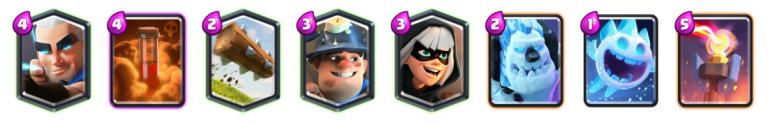 Magical Miner Poison Deck Reddit Blind Deck Challenge Clash Royale