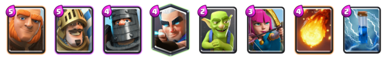 Magic Double Prince Deck Reddit Blind Deck Challenge Clash Royale