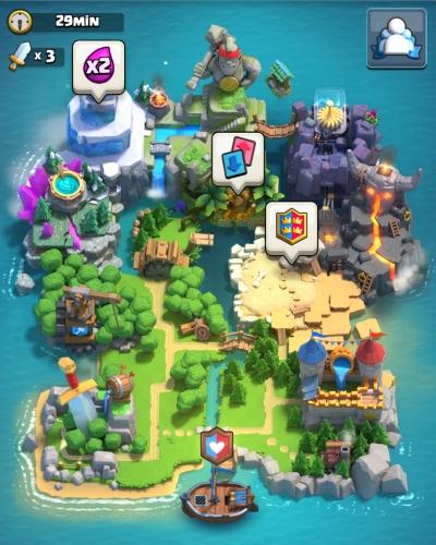 Clan Island Clan Wars Clash Royale
