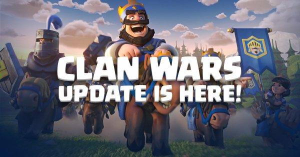 Clan Wars Update Clash Royale April 2018 Update