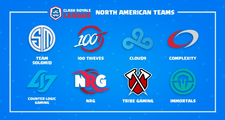 Clash Royale League North American Teams