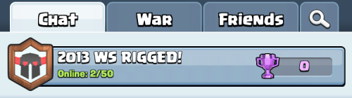 Clan Wars Tab Clash Royale