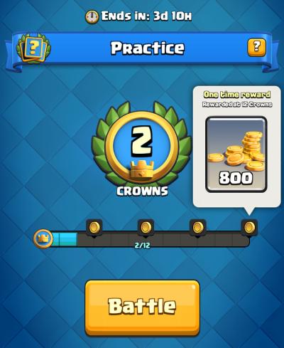 Goblin Challenge Practice Clash Royale