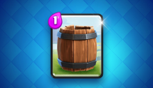 New Clash Royale Card the Barrel