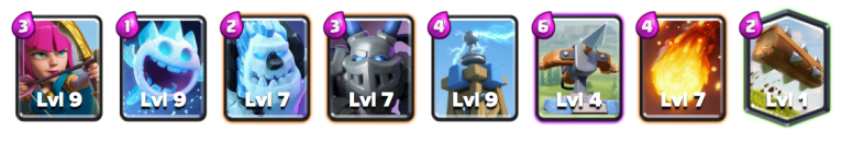 X Bow Cycle Deck Clash Royale