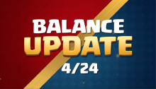 Balance Changes Update Clash Royale April Update