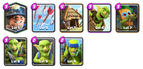 Mined the Bait Deck Goblin Challenge Clash Royale