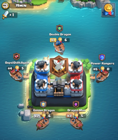War Day Island Clan Wars Clash Royale