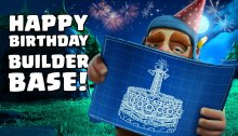 Clash of Clans Builder Base Birthday Bash